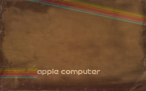 Apple Vintage Desktop by Cecily Madanes