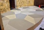 Faux Tiled Floor